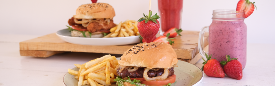 Buy 2 Burgers for only R120!